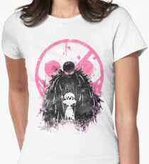 Doflamingo Art Women's Fitted T-Shirt