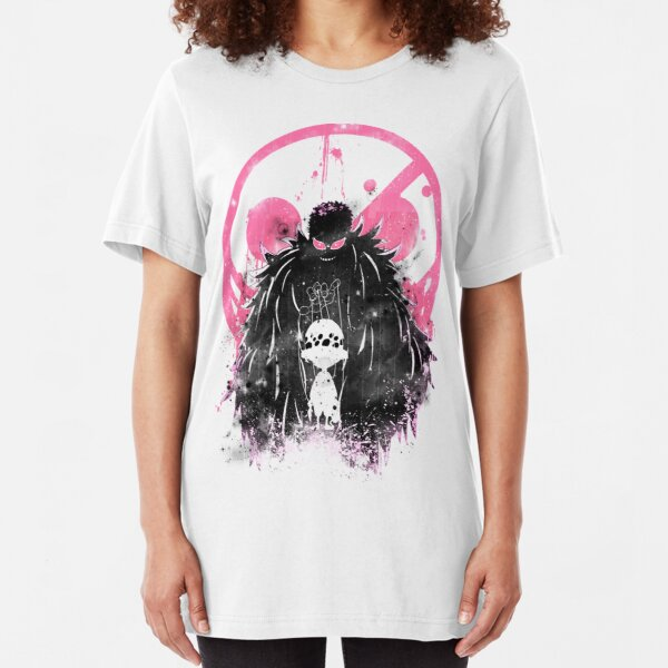 Doflamingo Art Slim Fit T-Shirt