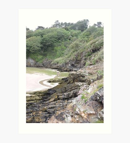 Welsh Crags Art Print
