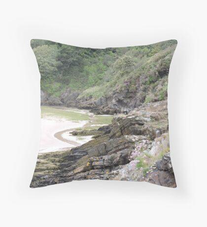 Welsh Crags Throw Pillow