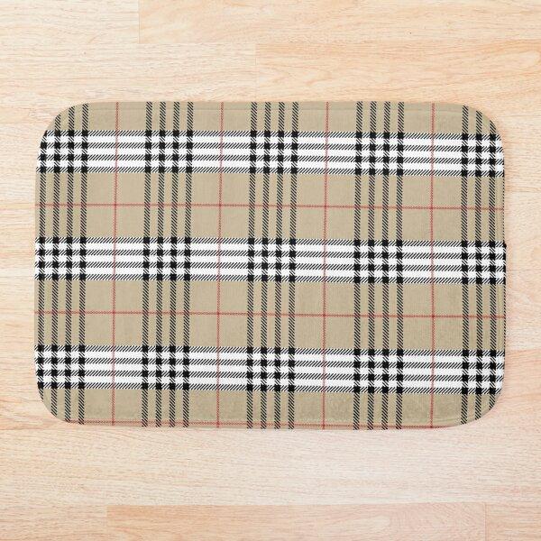Scottish Tartan plaid pattern Bath Mat