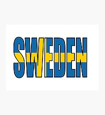 Sweden Photographic Print