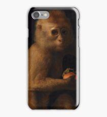 George Stubbs - A Monkey 1799 iPhone Case/Skin
