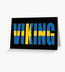 Viking (sweden) Greeting Card