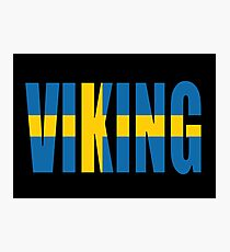 Viking (sweden) Photographic Print