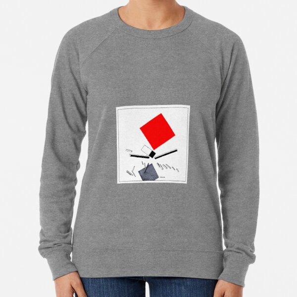 El Lissitzky - Story of 2 Squares Lightweight Sweatshirt