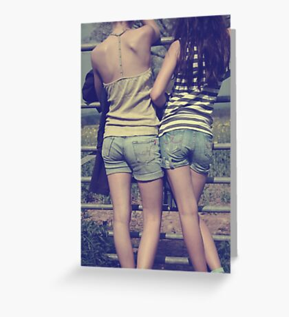 apparel for carefree days Greeting Card