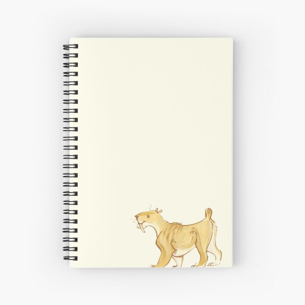 sable diente gatito Cuaderno de espiral