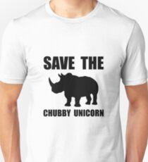Chubby Unicorn Rhino Unisex T-Shirt