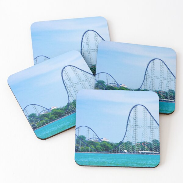 Millennium Force - The Icon Coasters (Set of 4)