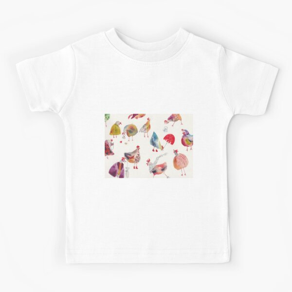 A brood of chickens Kids T-Shirt