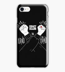 Kraftklub Hand in Hand iPhone Case/Skin