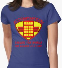 Accountantgirl Womens Fitted T-Shirt