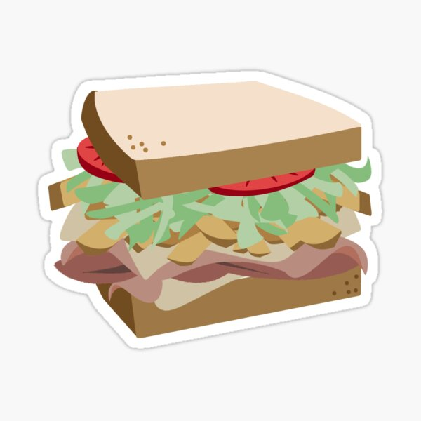 Primanti's Sandwich Sticker