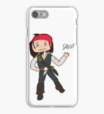 Chibi Captain Jack Sparrow iPhone Case/Skin