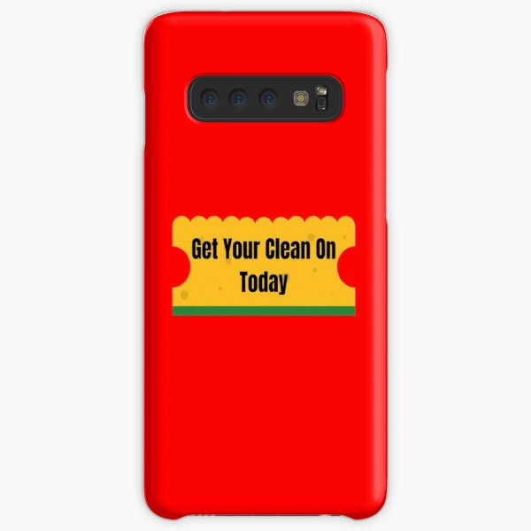 Get Your Clean On Today Funny T-shirt Classic Samsung Galaxy Snap Case
