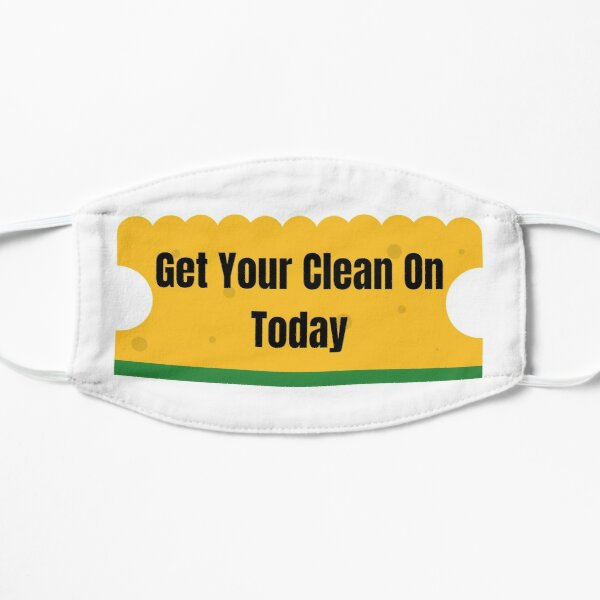 Get Your Clean On Today Funny T-shirt Classic Mask