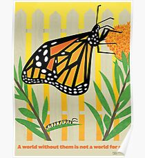 Monarch Conservation Poster Poster