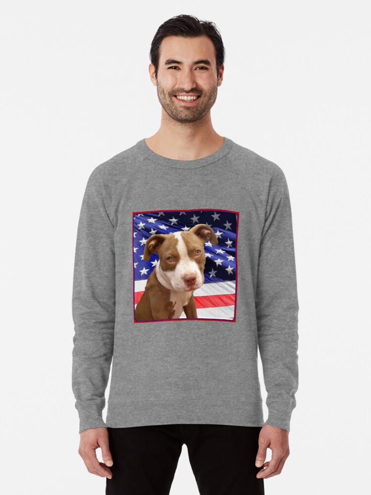 Pit Bull Terrier Puppy  Hooded Sweatshirt  Sizes//Colors