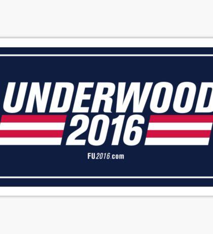 Frank Underwood Logo HD Sticker