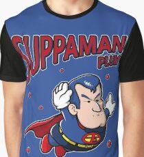Suppaman plum Graphic T-Shirt