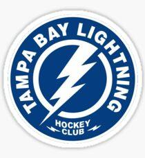 Tampa Bay Lightning Hockey Sticker