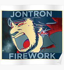 JonTron Firework Poster