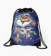 Strangely Familiar Drawstring Bag