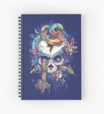 Strangely Familiar Spiral Notebook