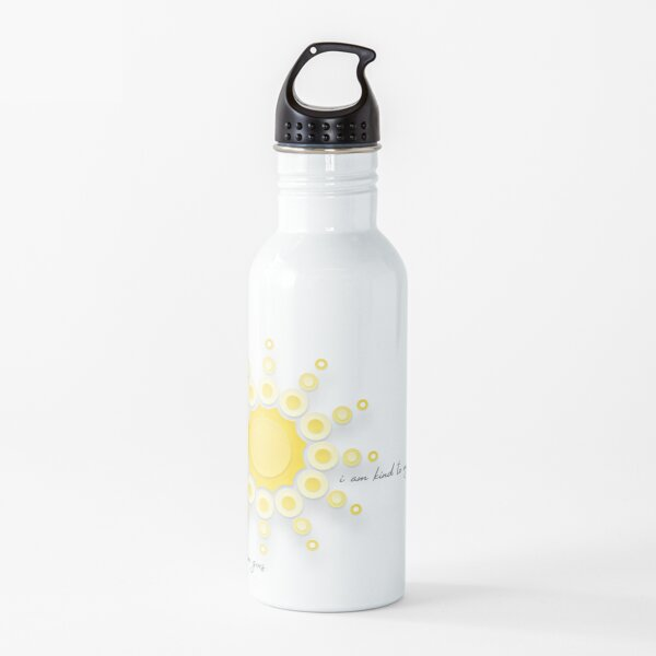 Crush. and be Well. Water Bottle