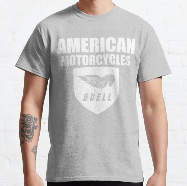 Maglietta T-Shirt motorcicle moto Buell New Logo Inspired