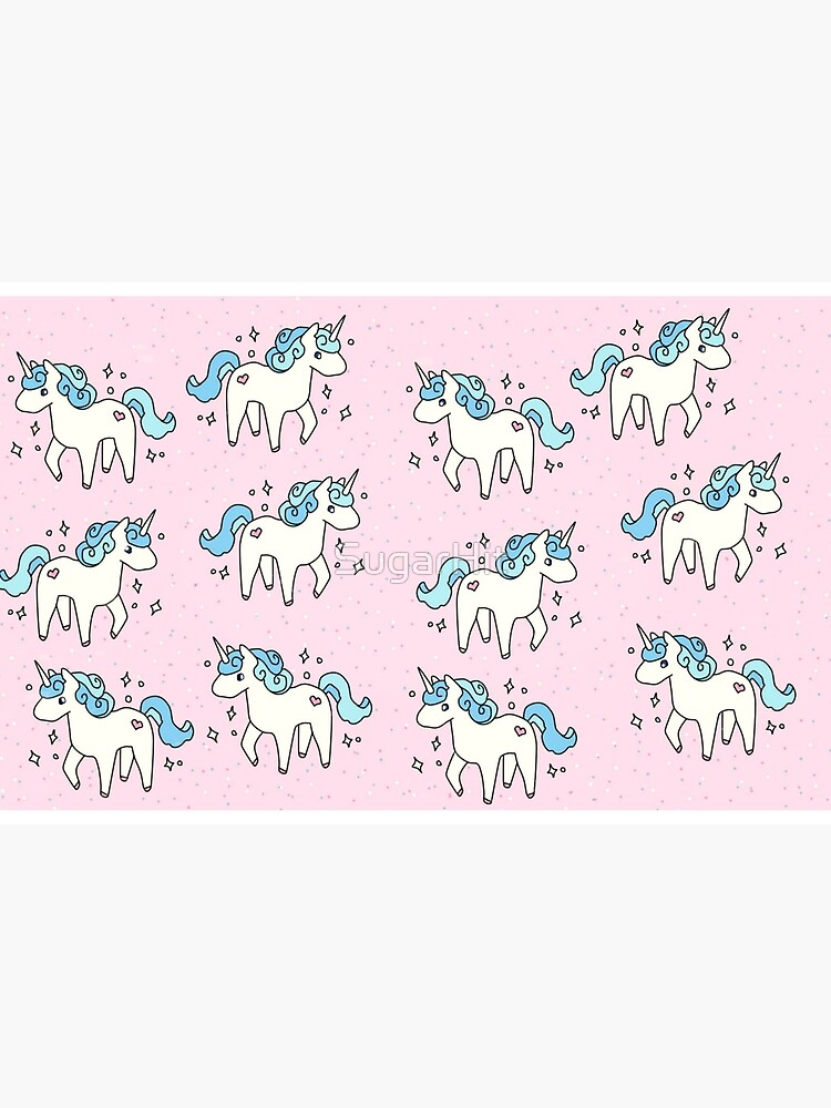 Unicorn Scatter Pattern by SugarHit
