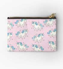 Unicorn Scatter Pattern Studio Pouch