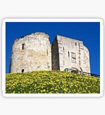 Clifford's Tower Sticker