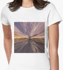 Fantasy Sunset 6 Womens Fitted T-Shirt
