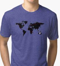 TFB Maps Tri-blend T-Shirt