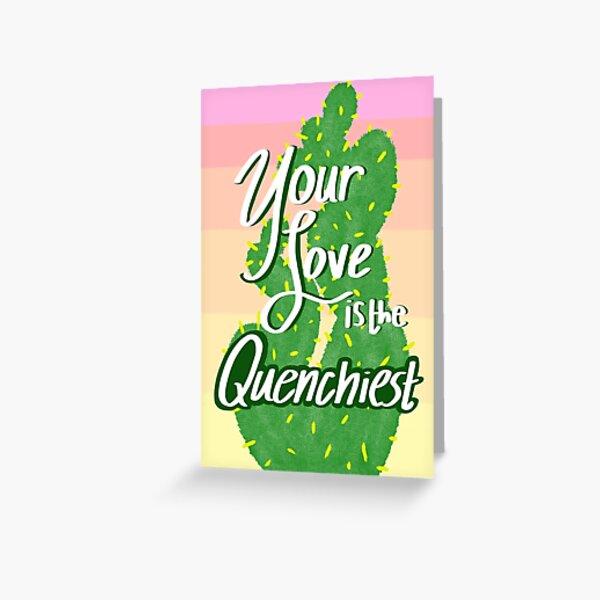 Avatar the Last Airbender Cactus Juice Valentine Greeting Card