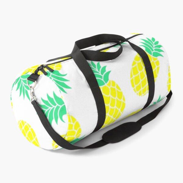 Pineapple Tropical seamless Pattern Duffle Bag