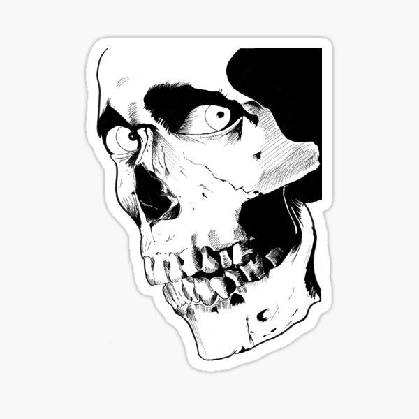 Evil Dead Skull Sticker