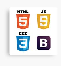 HTML - CSS - JS - Bootstrap Canvas Print