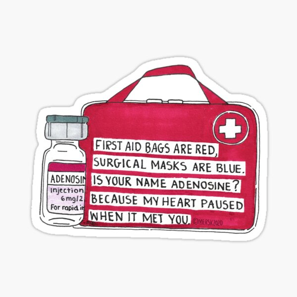Adenosine Sticker
