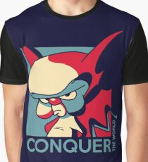 Conquer the World! Graphic T-Shirt