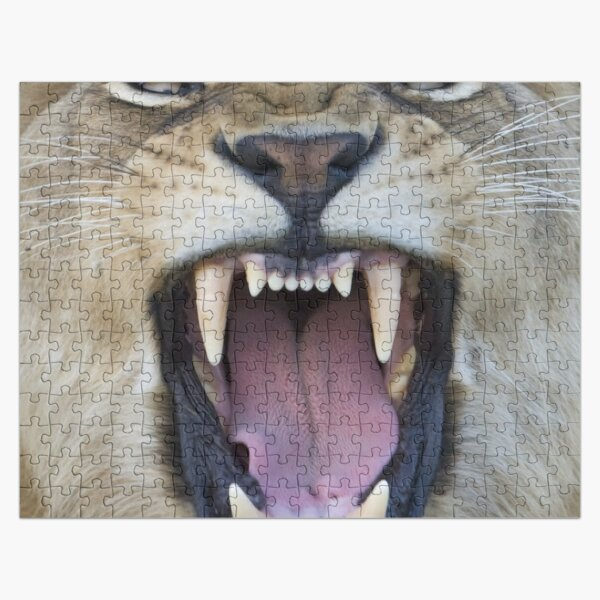 The Lions Mouth Opens Jigsaw Puzzle