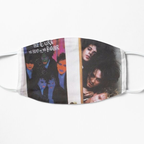 The Cure Band Flat Mask