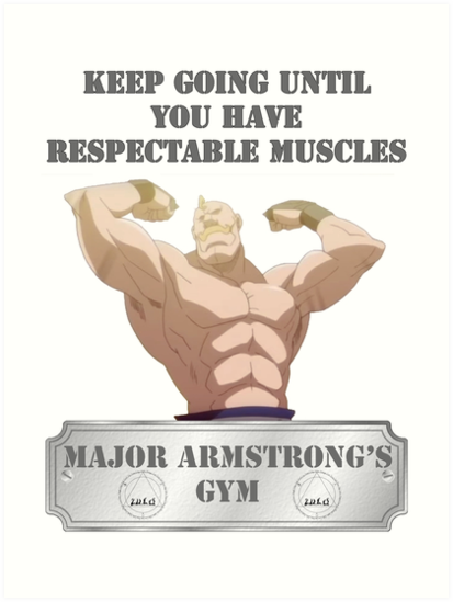 Major Alex Armstrongs GYM von CMOsimon