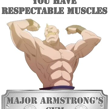 Major Alex Armstrong's GYM by CMOsimon