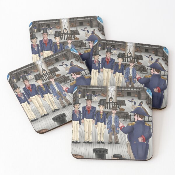 First muster Coasters (Set of 4)