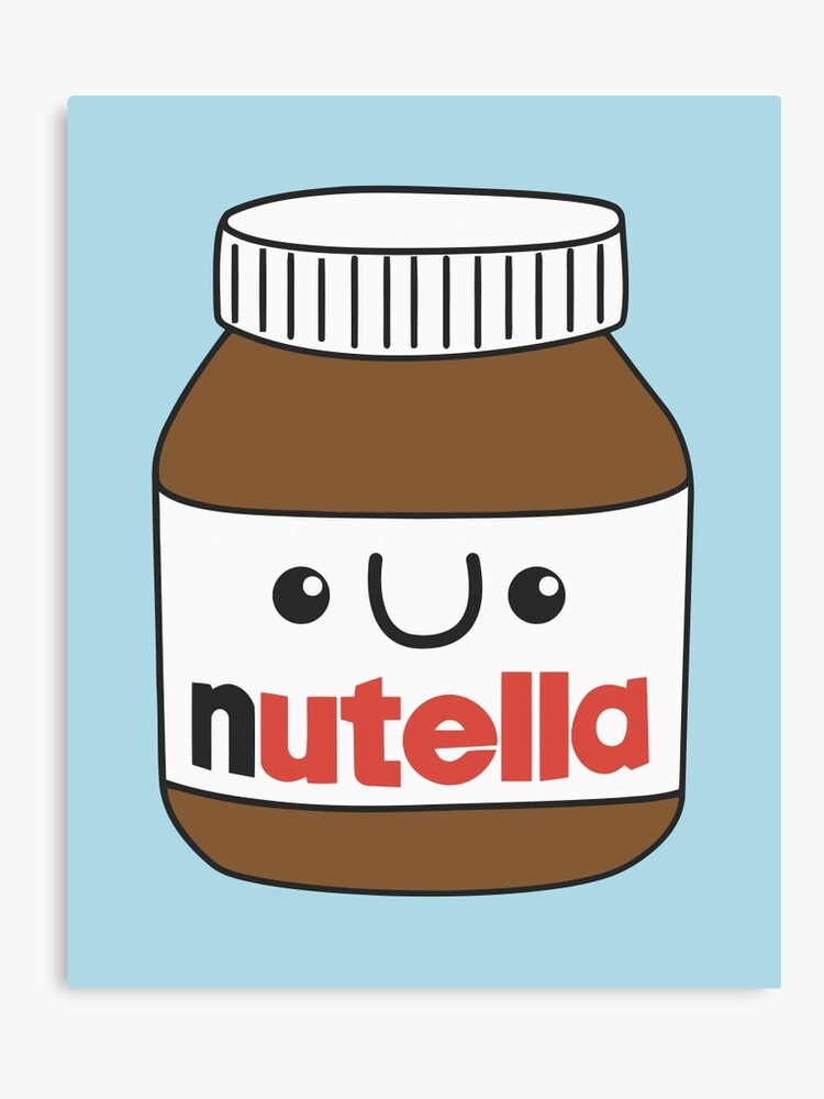 Kawaii Nutella Lienzo