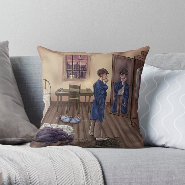 Grace in disguise Throw Pillow