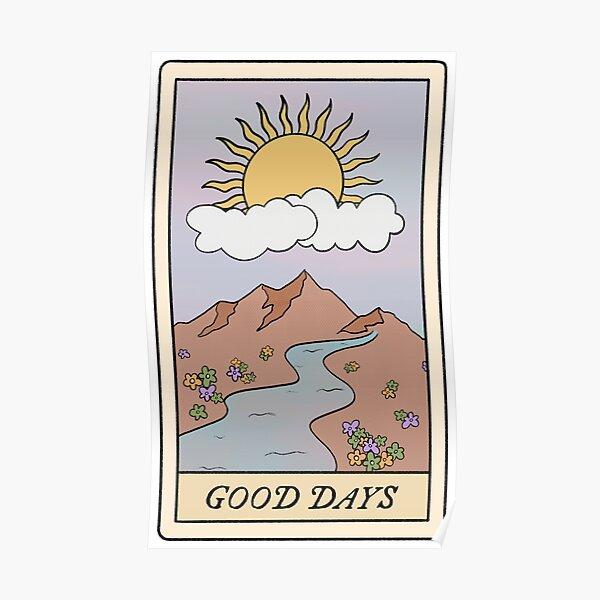 good days sza tarot card  Poster